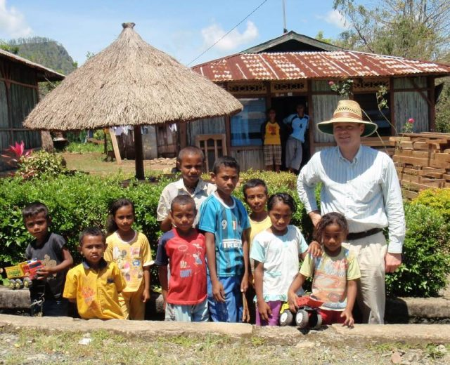 The Canberra couple funding a maternity hospital in West Timor